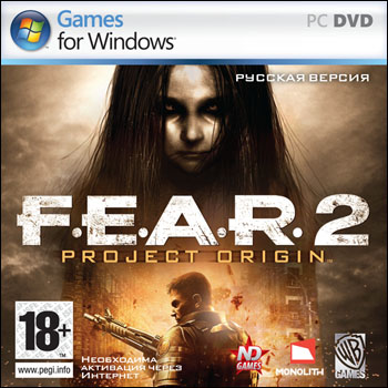 F.E.A.R. 2: Project Origin (Новый Диск) (RUS) [L]