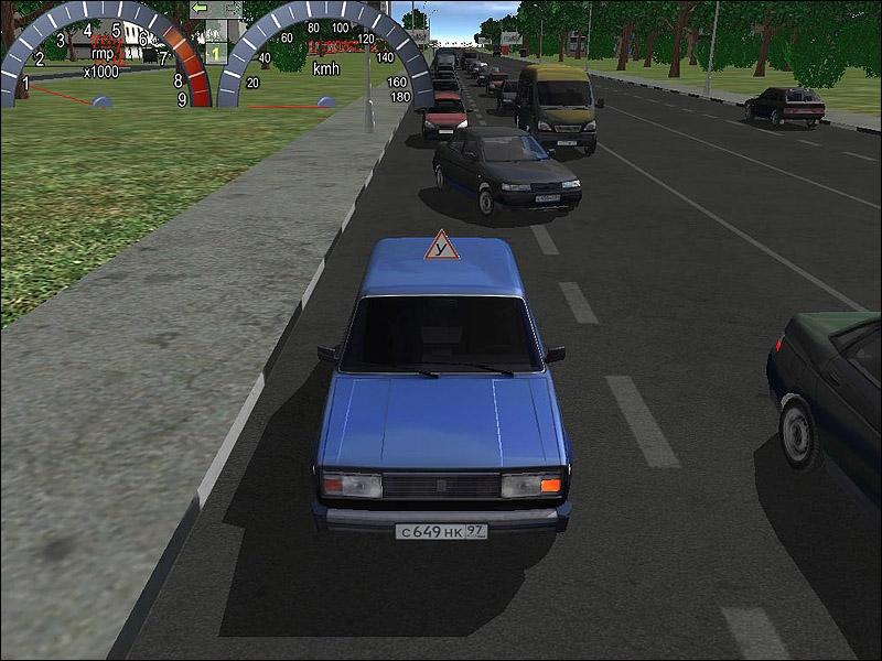 Игра Правила Дорожного Движения Вождение
