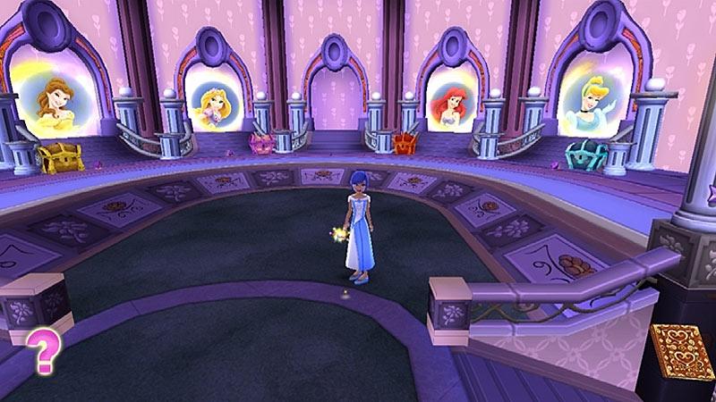 Видео игры принцессы диснея путешествие в сказку
