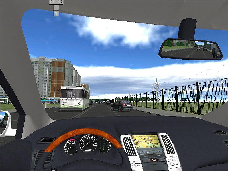 скачать автосимулятор 3d инструктор вождение по москве