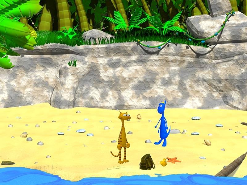 Пантукль и Жукабра на пиратском острове