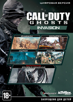 Call of Duty: Ghosts - Invasion (DVD-box)